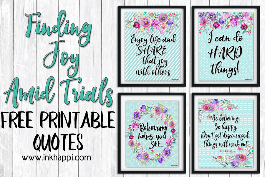 """Finding Joy Amid Trials Brings Happiness """"My Story"""""""