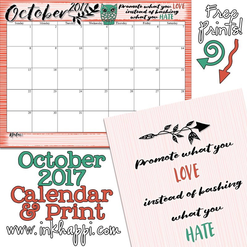 calendar 2017 october