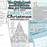 Little Lamb from Bethlehem. Ideas and Printables for a Christ Centered Christmas.