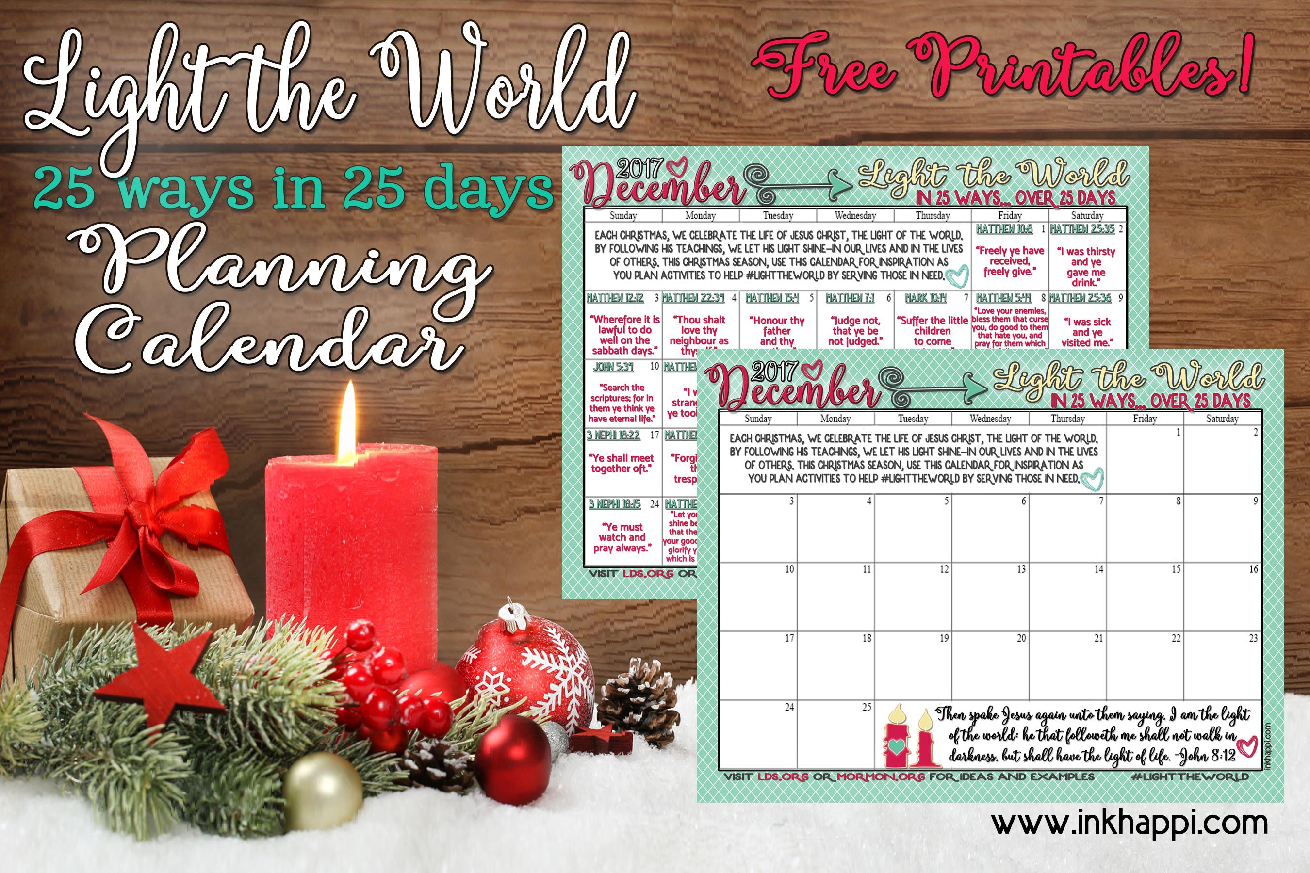 Light the World Christmas 2017 This Christmas