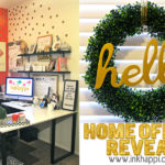 Home office reveal…  you're invited to take a tour!