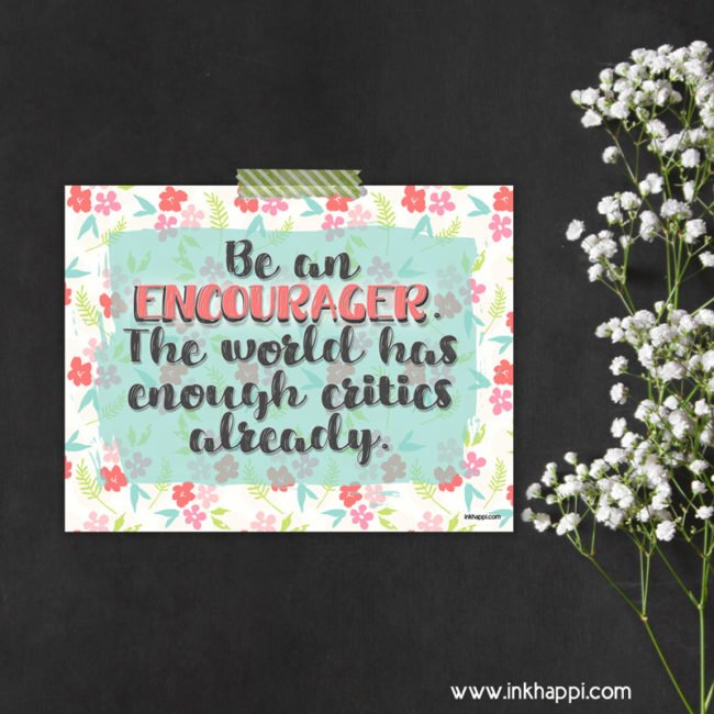 May 2016 Calendar and motivational print about encouragement from inkhappi.com #calendar #freeprintables #encouragement #quotes #motivationalthought