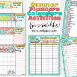 Summer Planning Calendars, Bucket List and Ideas!