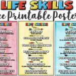 Life Skills Posters —->> Character building free printables!