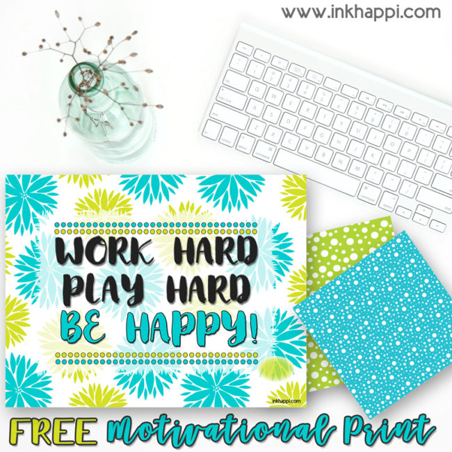 Cute September 2018 calendar and a motivational thought from inkhappi.com #calendar #freeprintable #motivationalthought