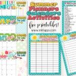 Summer Planning Calendars, Bucket List and Ideas!