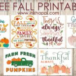 Free Fall Printables in a Variety of Styles