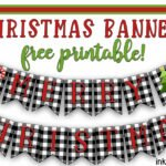 Christmas Banner free printable… now let's decorate!