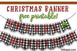 christmas banner header