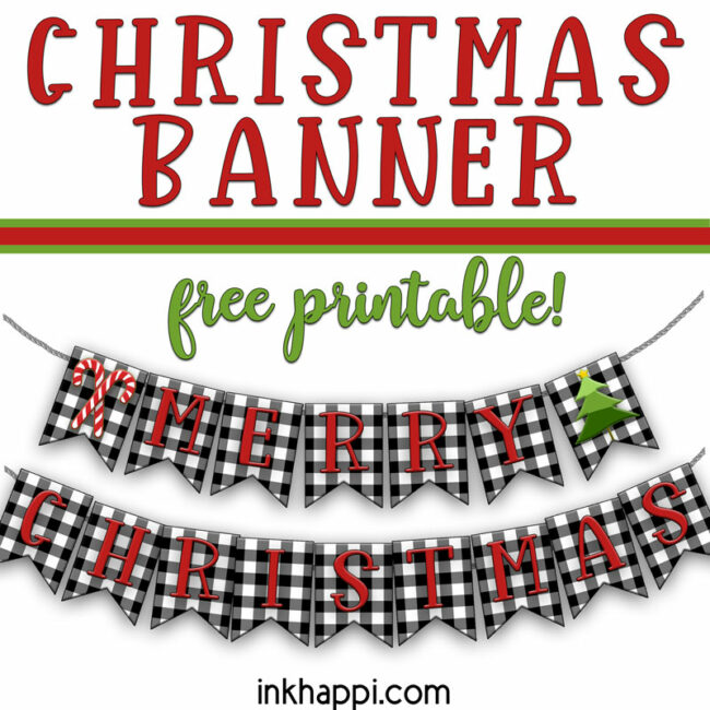 christmas banner square