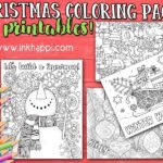Holiday Coloring Pages… And Creating Holiday Traditions!