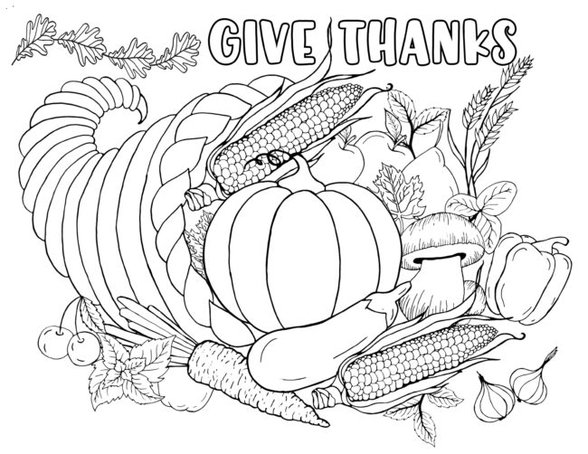 give thanks harvest