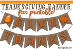 thanksgiving banner header