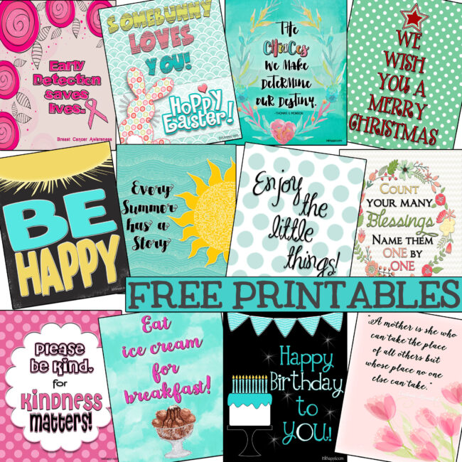 FREE PRINTABES from inkhappi