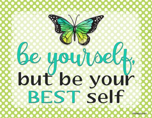 Motivational thought from inkhappi #freeprintable #motivationalthought