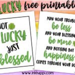 Lucky printables and some fun St Patricks facts