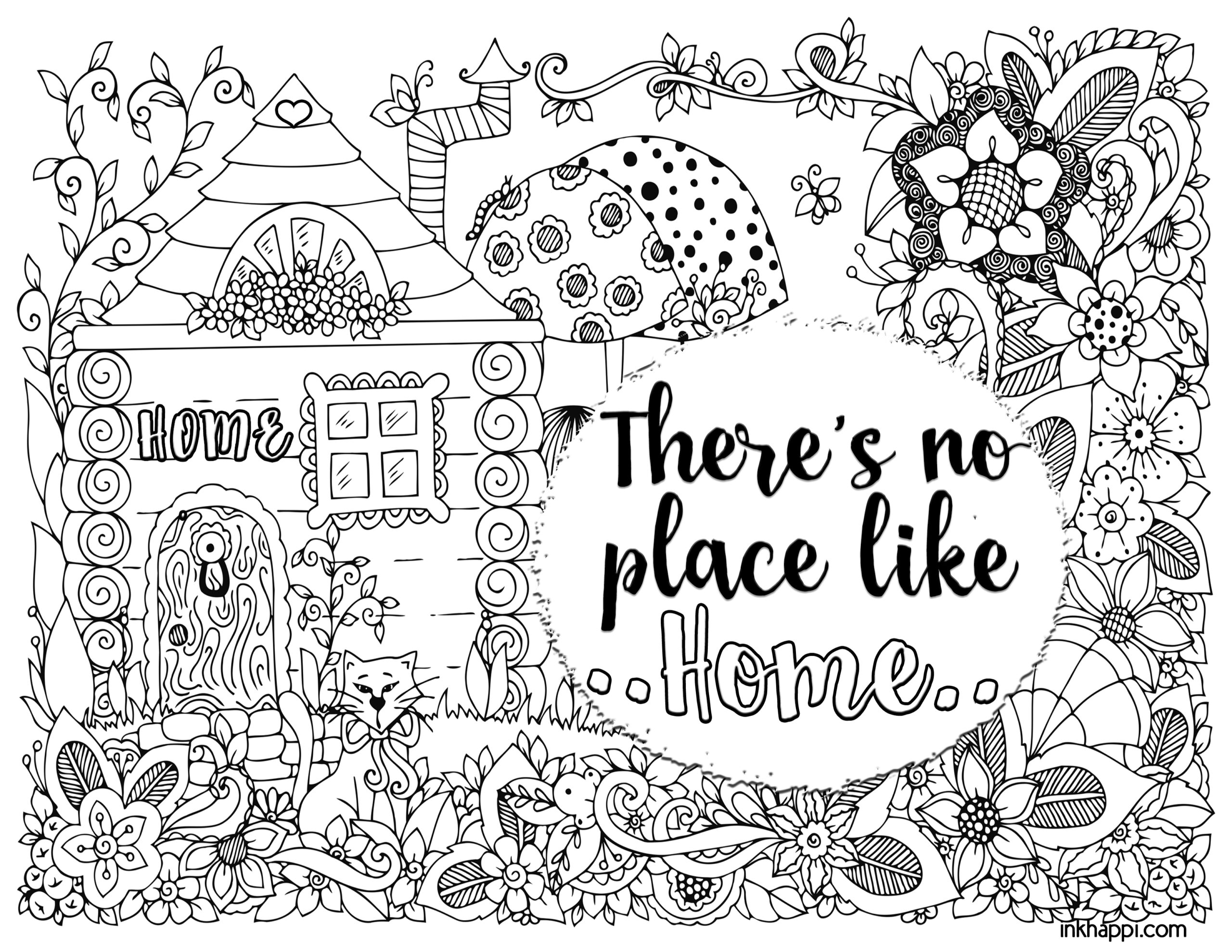 Family Coloring Pages Printable - Coloring Home | 1978x2560