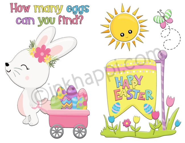 Egg Hunt free printables! #easteregghunt #freeprintables #easter