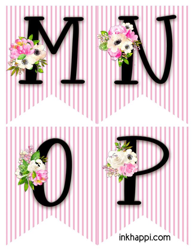 Spring banner m p