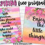 Inspiring Quotes… Some of my favorite free printables!