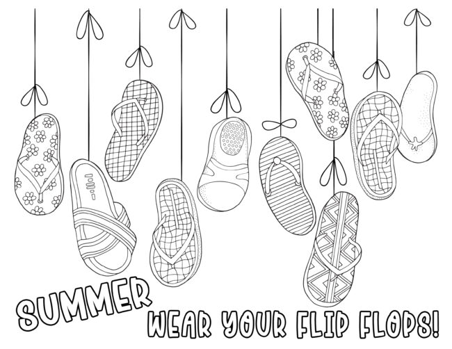 favorite pastimes coloring pages summer fun inkhappi favorite pastimes coloring pages