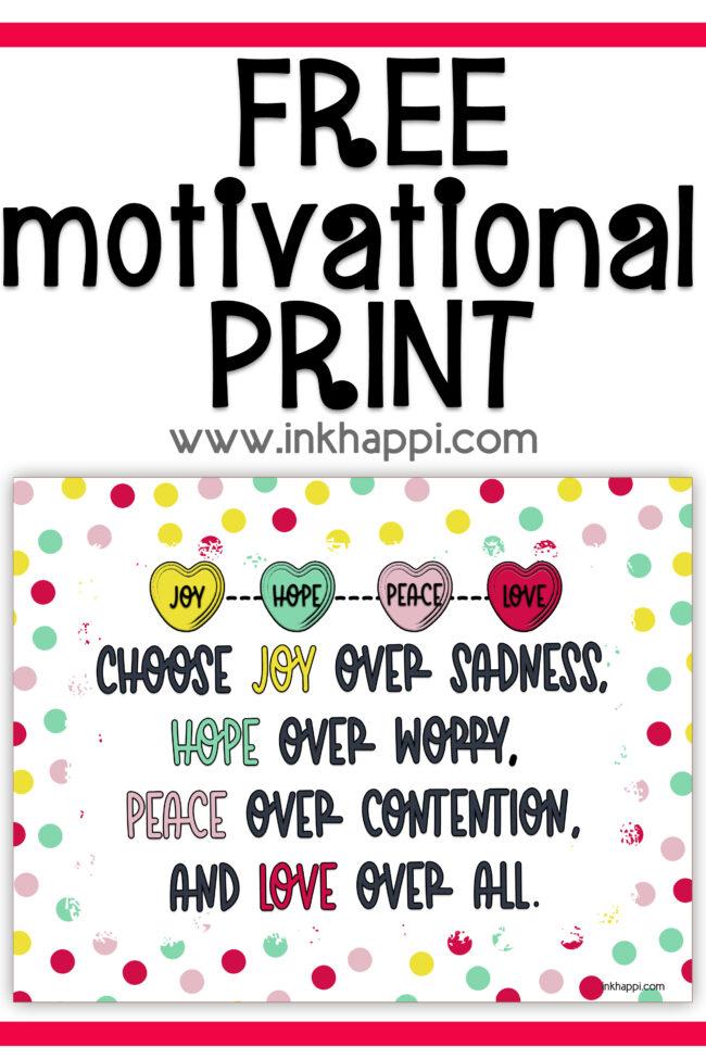 Motivational print #freeprintables #motivationalthought
