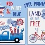 Free Patriotic 4th of July Printables! BOOM!